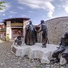 The birth place of Pope John XXIII in Sotto il Monte near Bergamo