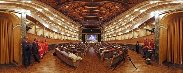Bergamo Scienza Teatro Sociale Faggin