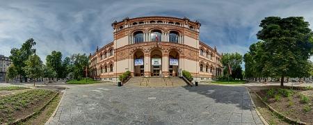 Milano: il Museo di Scienze Naturali all'interno dei Giardini di Porta Venezia
