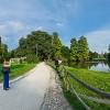 Parco Sempione con vista su Castello ed Arco della Pace