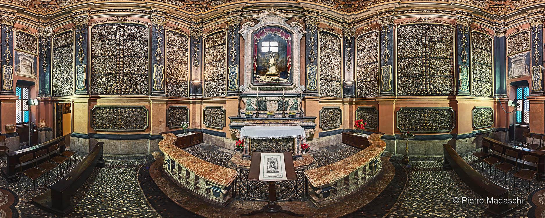 "The ""San Bernardino alle Ossa"" Ossuary in the Chapel of the 16th Century"