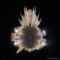 The Duomo in Milan at Christmas time