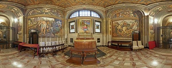 Milano Sant'Ambrogio Cappella San Giorgio