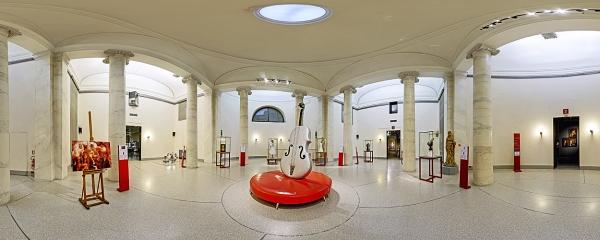 Ala Ponzone Gallery: Columns Room, 8 Variations on Stradivari