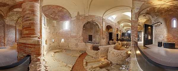 Archaeological excavations in Cremona