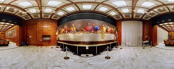 The Last Supper by A. Allori in the Board Room of Credito Bergamasco