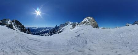 Monte Bianco Punta Helbronner