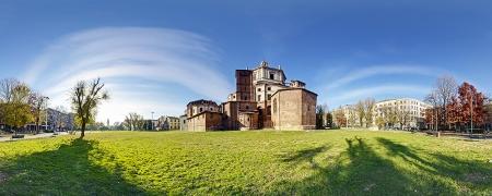 Un parco e due Basiliche storiche di Milano