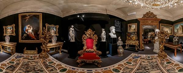 Tour Virtuale: Galleria Carlucci – Via del Babuino, Roma